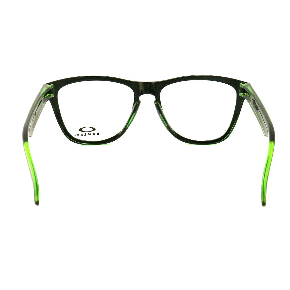 4e995ee4b2 Oakley Frogskins Green Eyeglasses OX8131-02 Demo Lens 54 17 138 ...