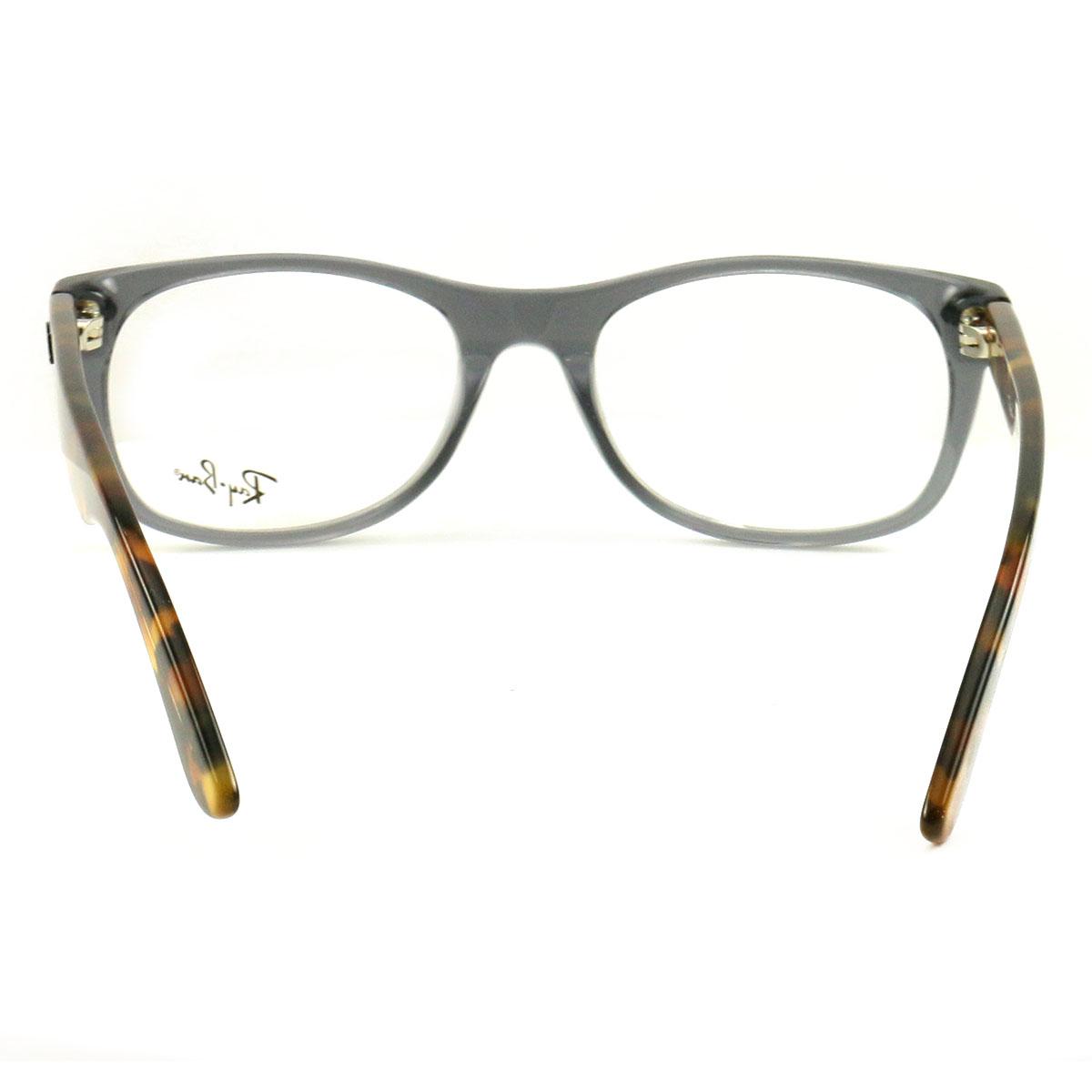 7527c0b7fd Ray-Ban RX5184 Eyeglasses Unisex 5629-52-18-145 Gray Havana Acetate ...