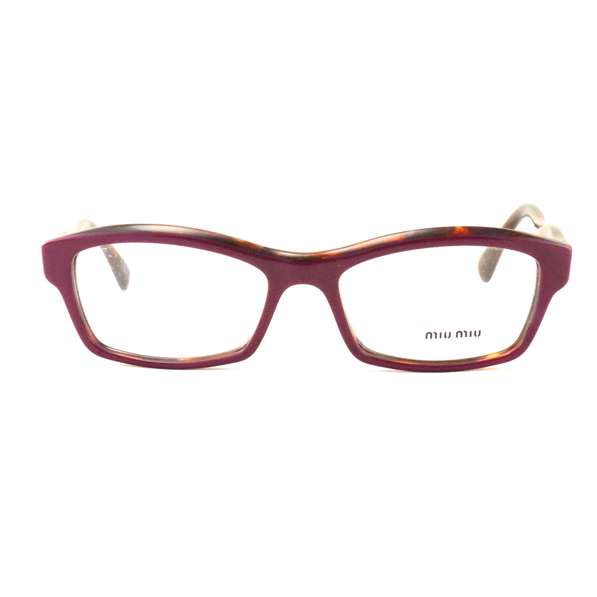 079b53125c0 New Miu Miu Eyeglasses VMU 021I PC4 101 Lilac-Havana Acetate 52 16 ...