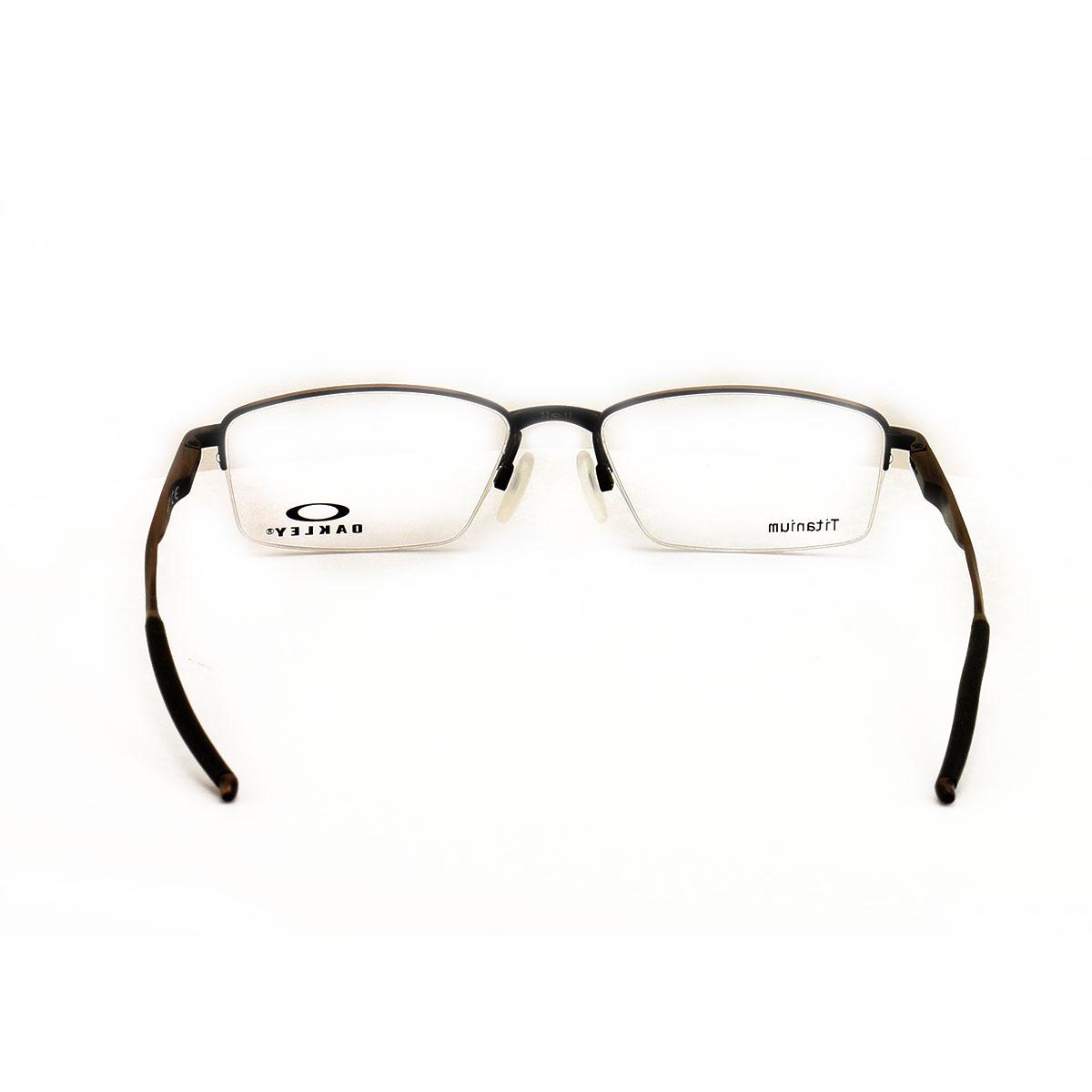 c5532ae5689 Oakley Limit Switch 0.5 Eyeglass OX5119 03 Satin Toast 52 17 139 Titanium