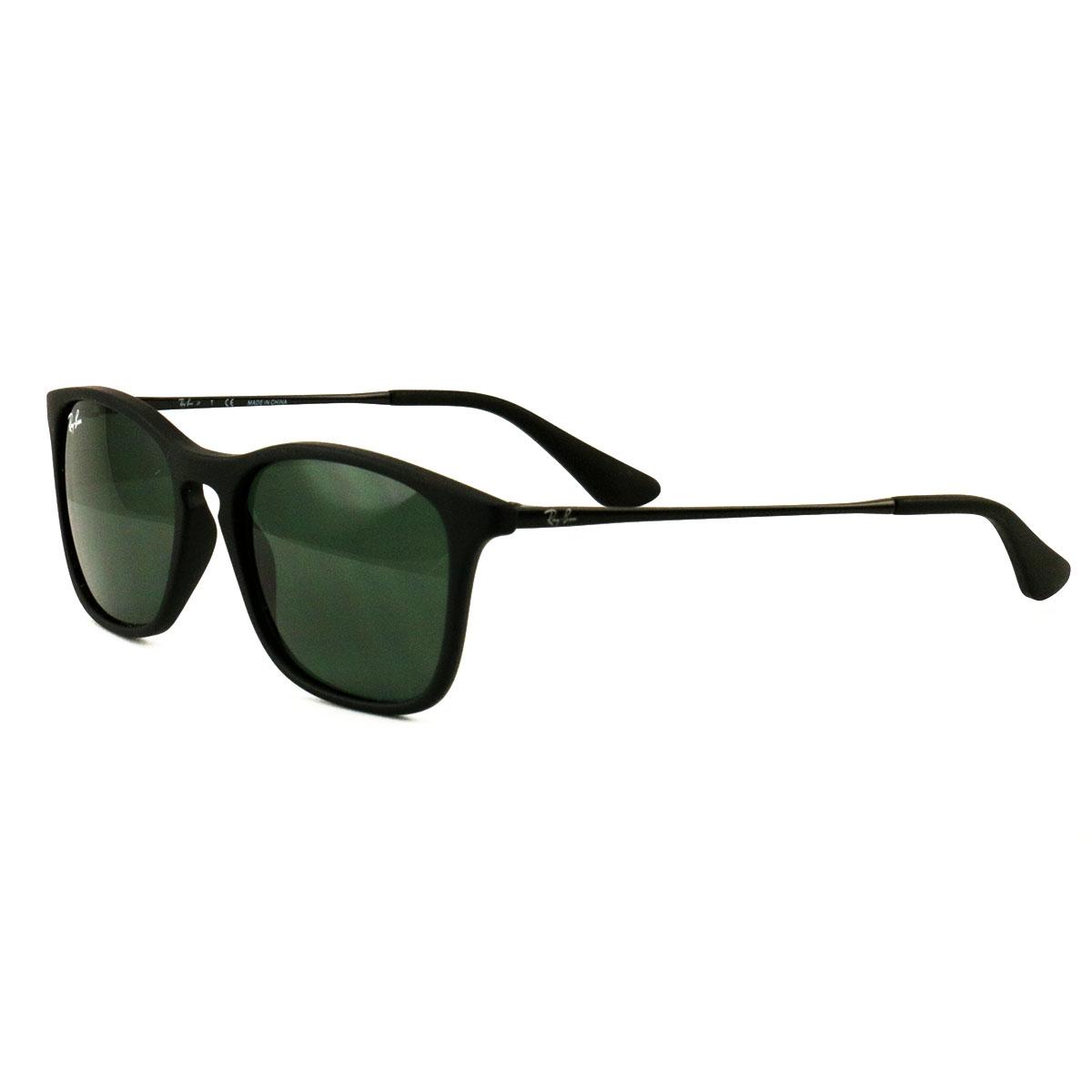 0bd86ef2af Ray Ban Jr Sunglasses RJ9061S 7005 71 Matte Black Green 49 15 130 ...
