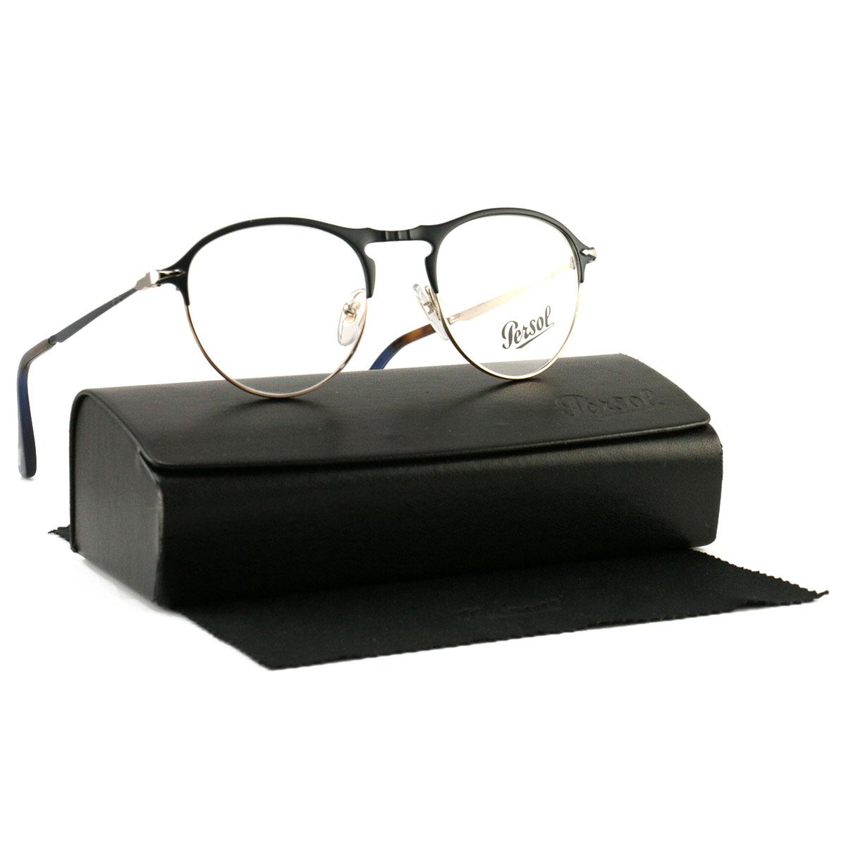 c2f68f3b12 Persol Eyeglasses PO 7092-V 1073 Dark Blue Tortoise Plastic 48 19 145 Demo  Lens