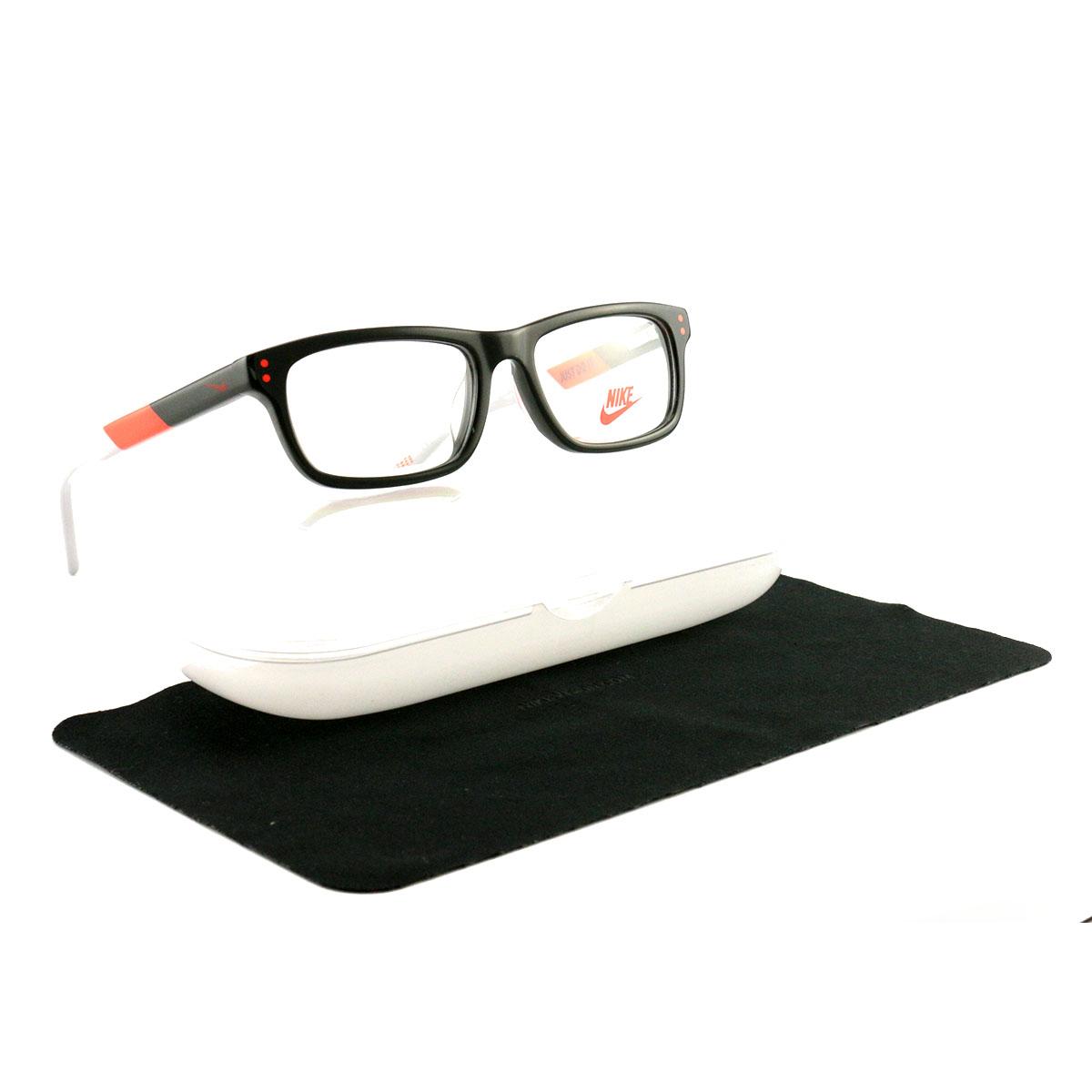 96d9a9bf894 Details about Nike Eyeglasses NIKE 5535 068 Dark Gray 45 14 125 Plastic  Demo Lens