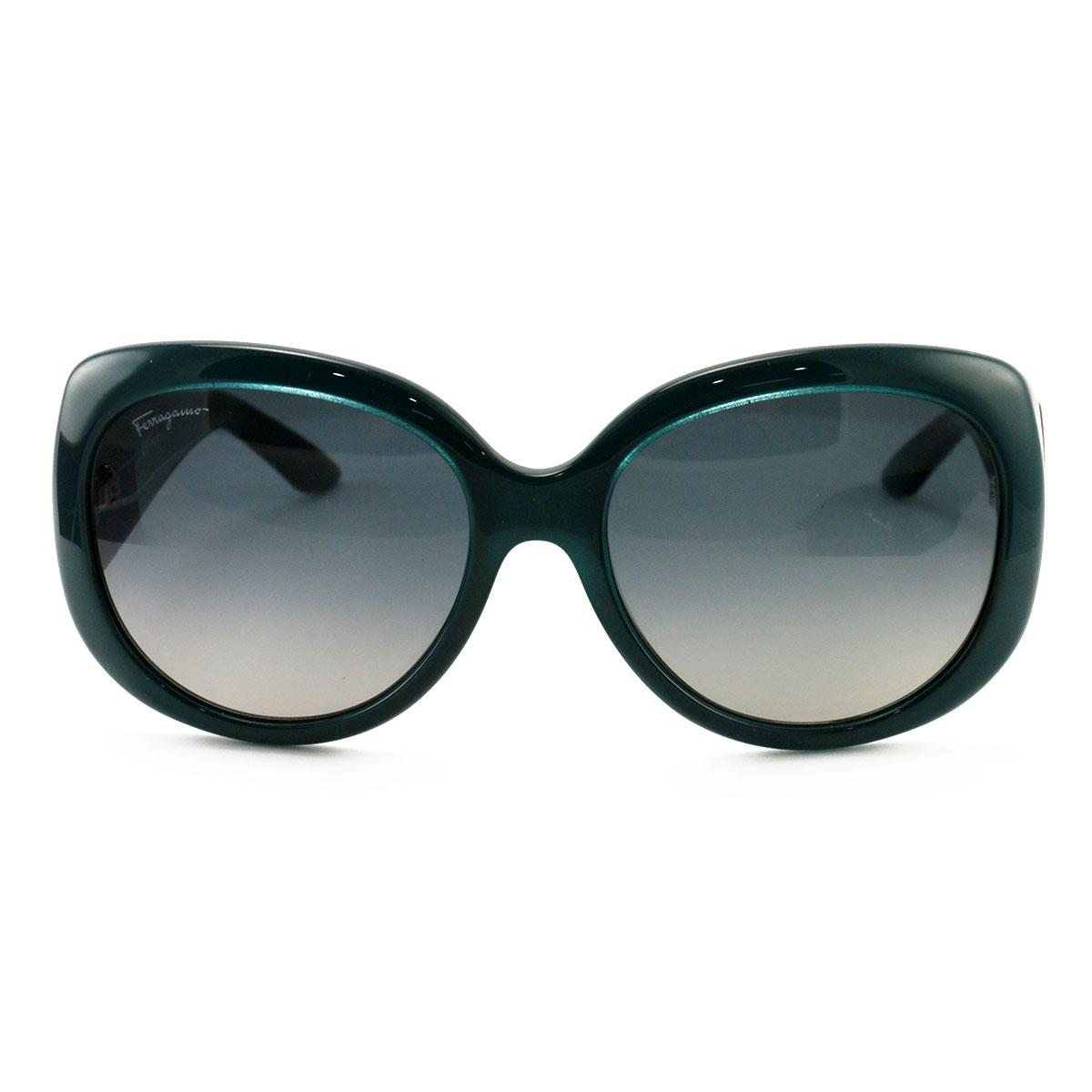 aa825cc86e4 Salvatore Ferragamo Women´s Sunglasses SF721S 416 Petrol Blue 55 17 ...
