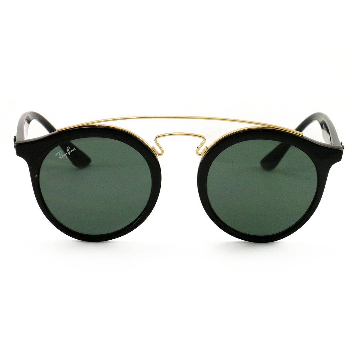 209ce98c6c3 Ray Ban Men´s Sunglasses RB4256 601 Black Gold 46 20 145 Dark Green Lenses