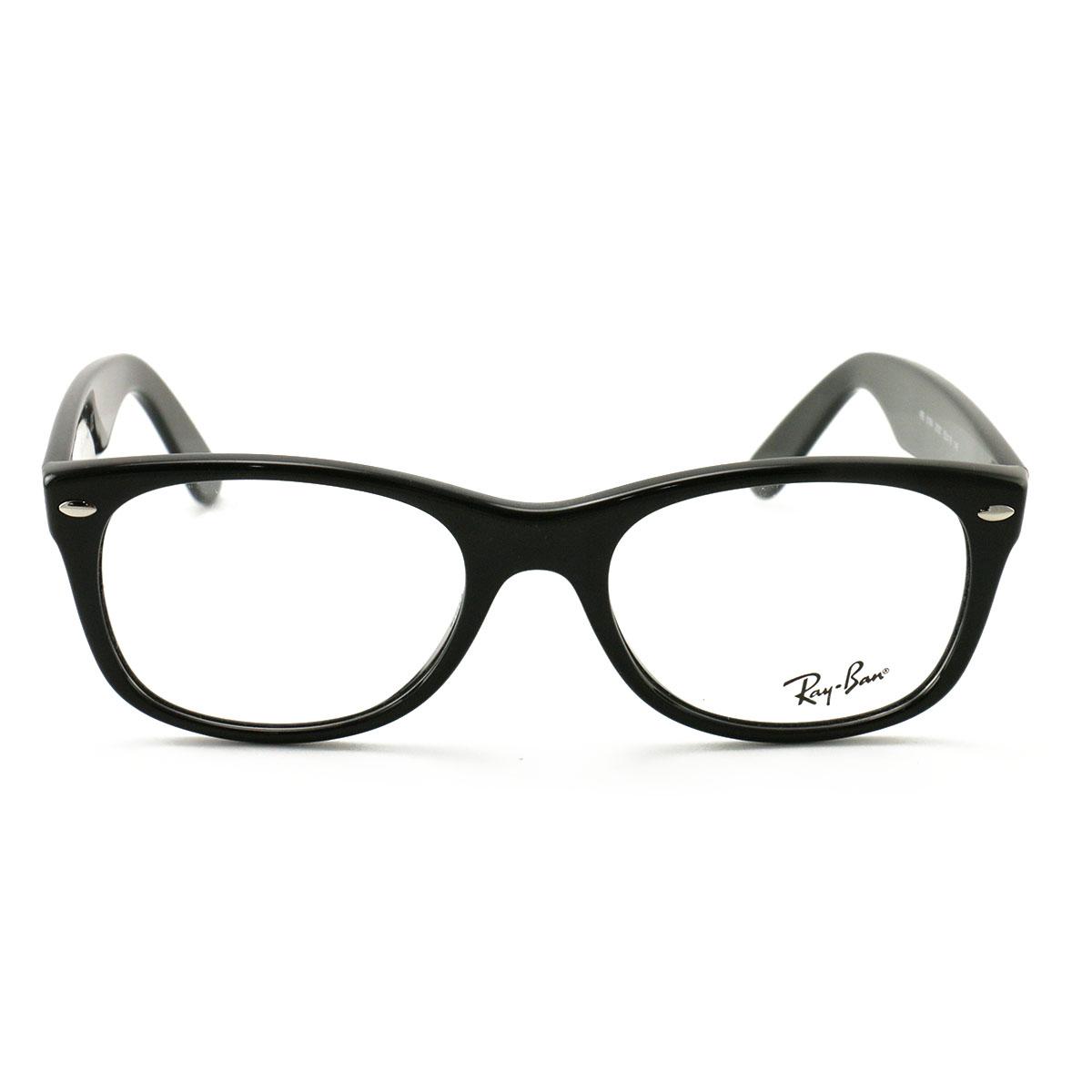 13fabd568c Ray-Ban Eyeglasses RB 5184 2000 Black 52 18 145 Wayfarer Acetate ...