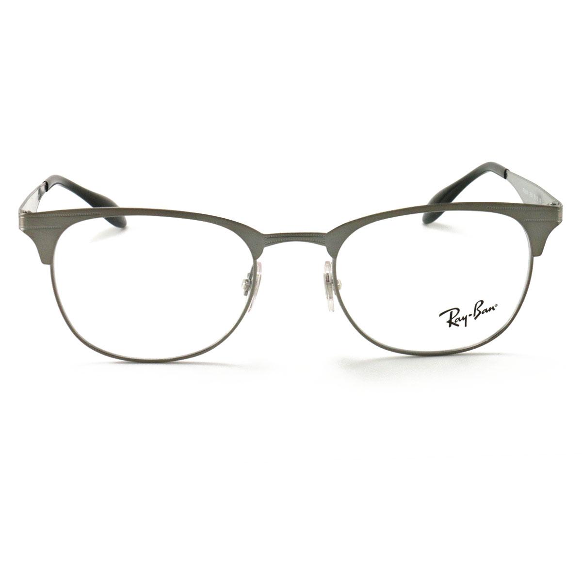98491a4ffb Ray Ban Eyeglasses RX6346 2553 Silver 50 19 140 Demo Lens ...
