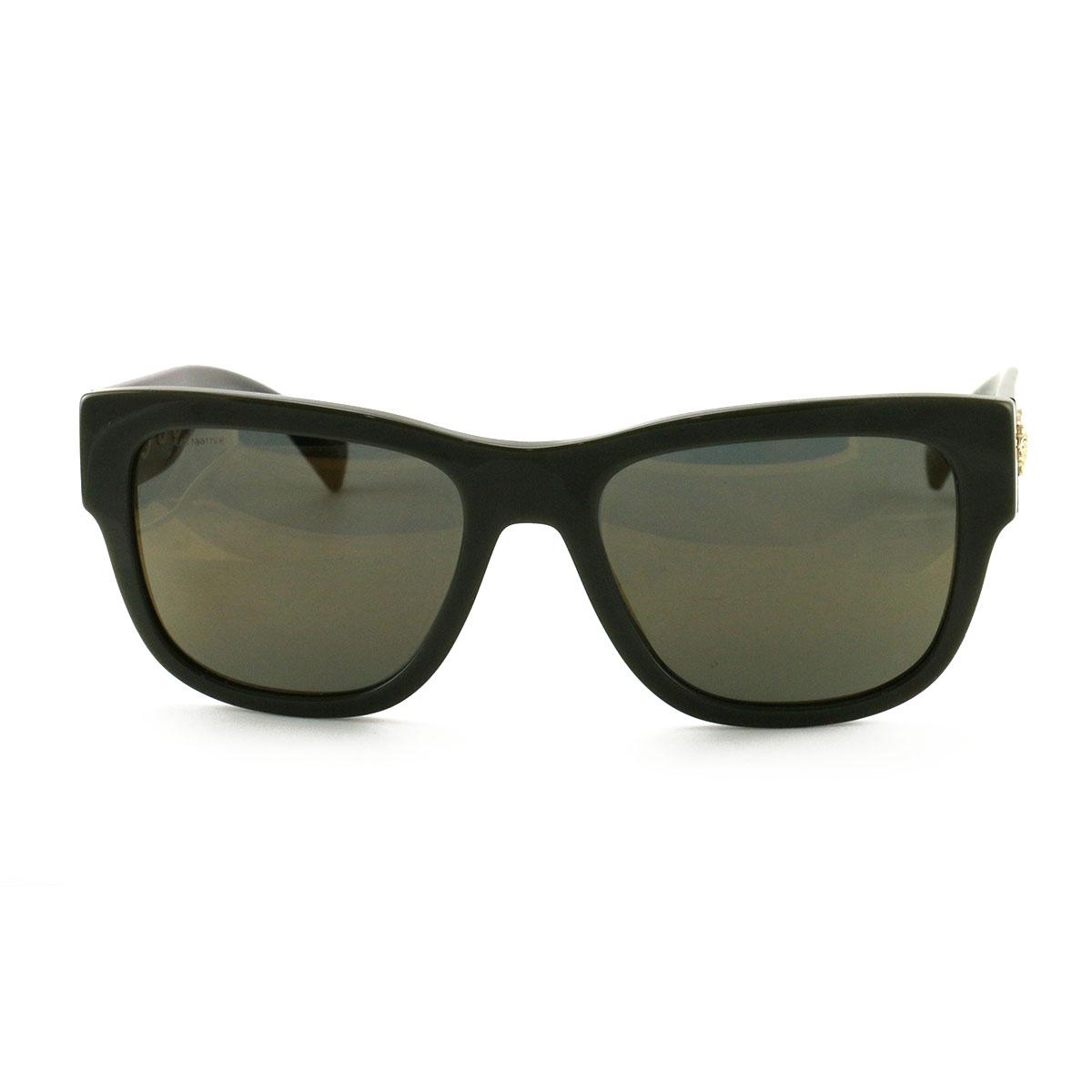 799e2a4020 Versace VE4319 Women s Sunglasses 5193 4T Olive Black Gold Mirrored 56 19  140