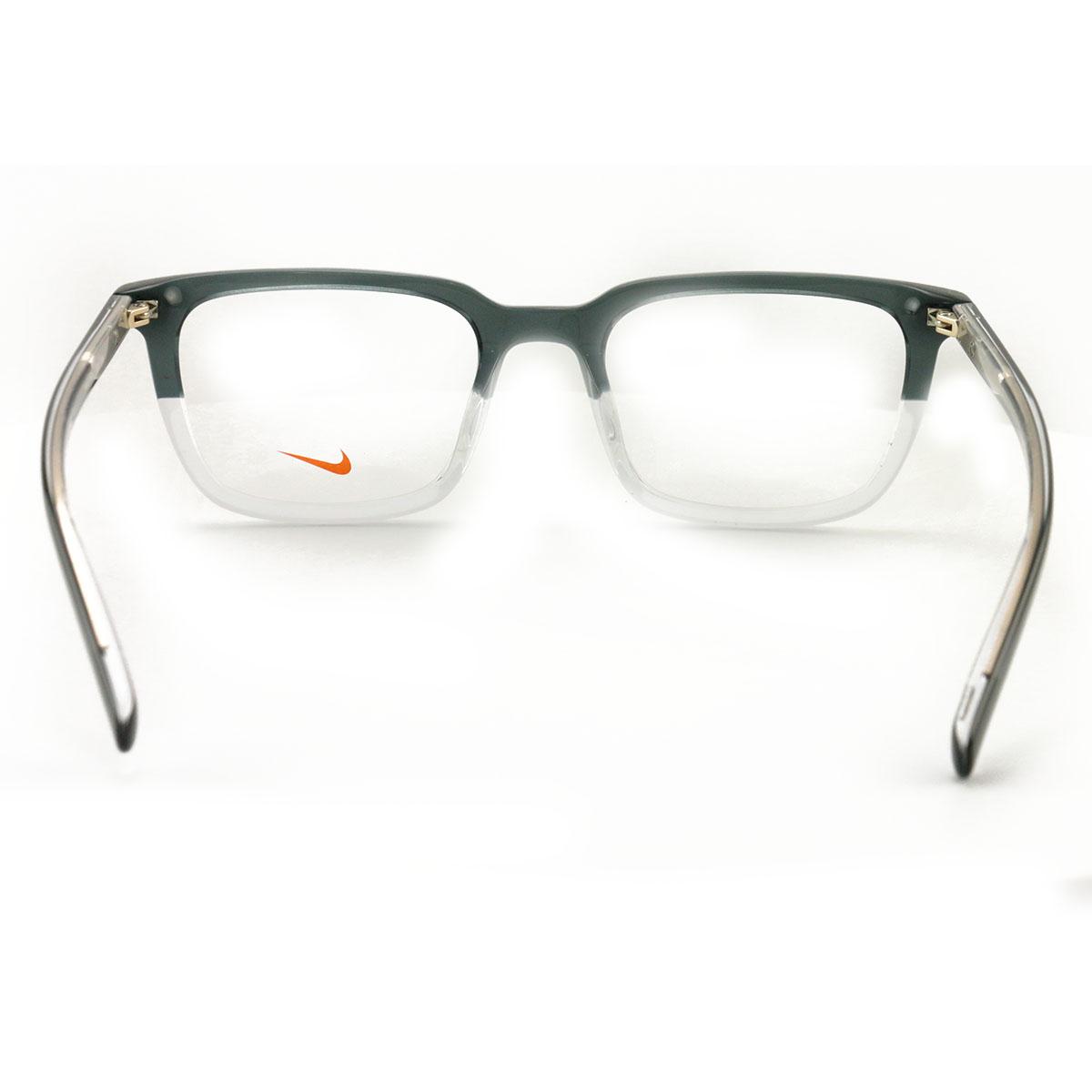 fcc5b0db84 Nike Men s Eyeglasses EV37KD 078 Black Clear 52 20 135 Demo Lens ...