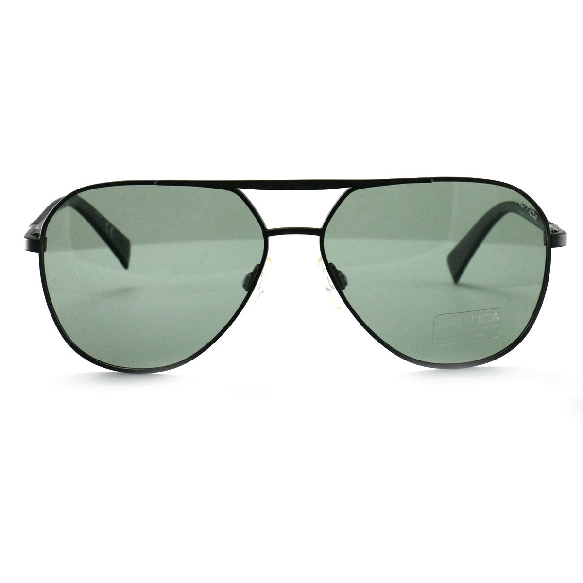 Nautica Men/'s Sunglasses N5129S 005 Matte Black 55 19 140 Polarized