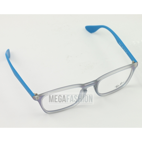 24e5767b586 New Ray Ban Eyeglasses RB 7045-5484 Turquoise Acetate 53 18 140 Authentic
